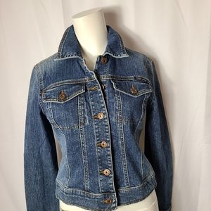 DNKY Jean Jacket blue wash fitted style